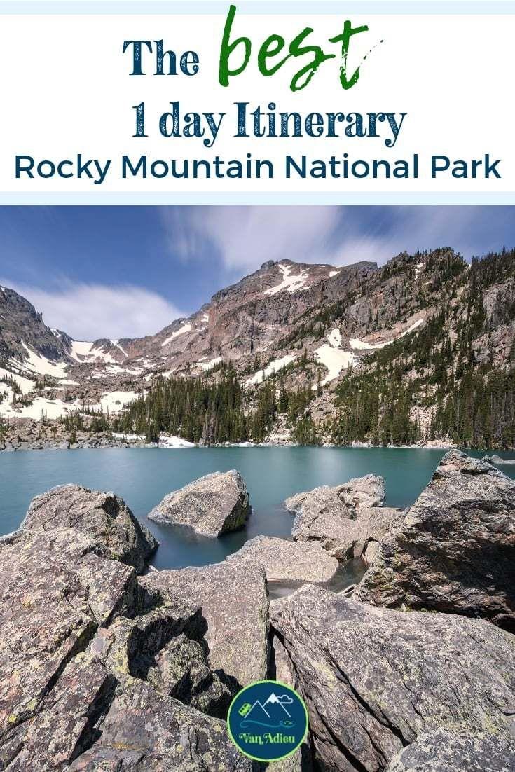 1 Day Itinerary – Rocky Mountain National Park [Estes Park]