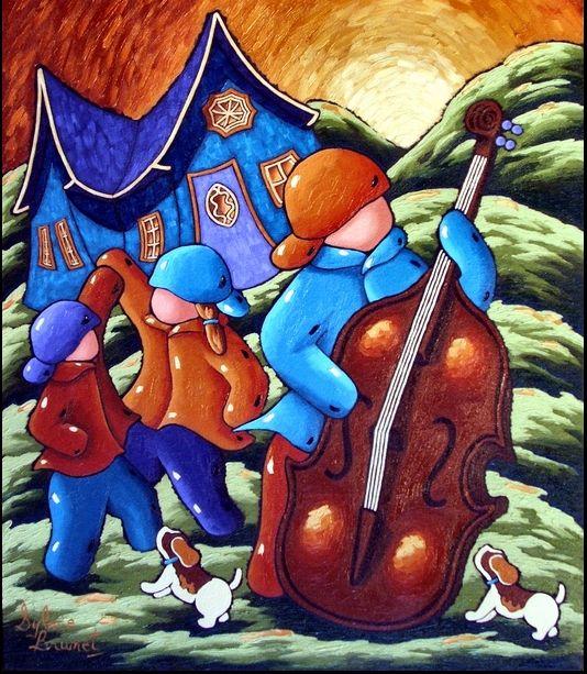 Sylvie Brunet, artiste-peintre résidant à Elgin au Québec - Talents d'ici