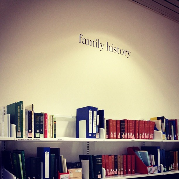 Taken by feralgeorge on Instagram. The family history service in the State Library of NSW, Sydney, Australia.