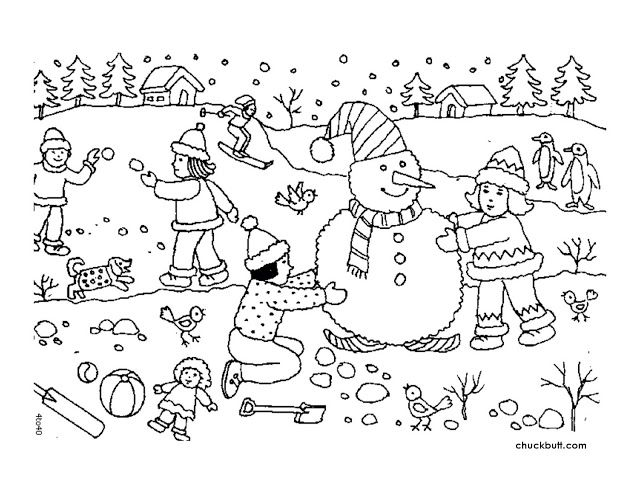 Free Winter Worksheets Coloring Pages Winter Cool Coloring