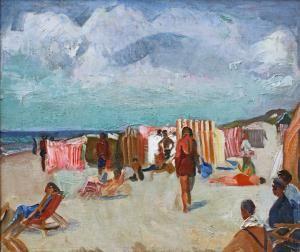 Harrie Kuijten - zonnig strand