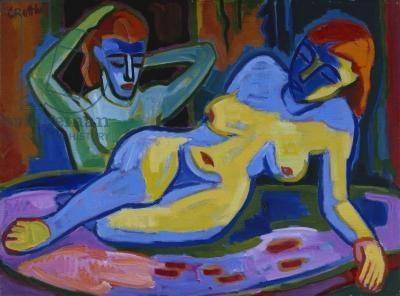 1953 Karl Schmidt-Rottluff, saw this in Berlin last week