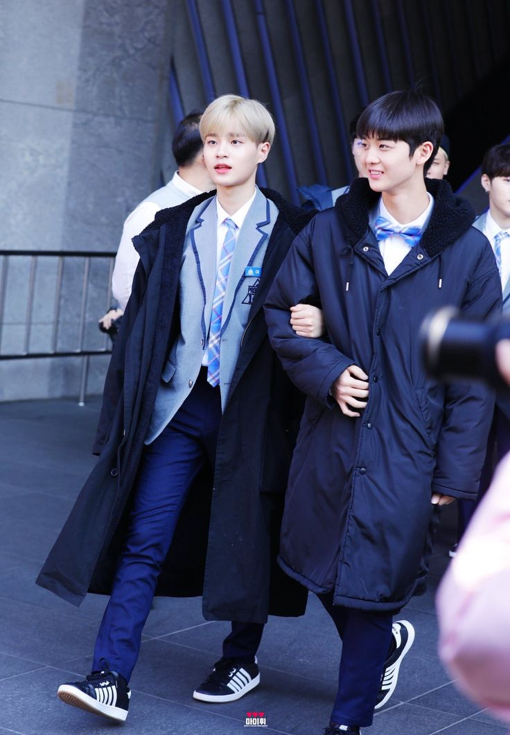 Bae Jin-young and Lee Dae-hwi #produce101season2 #배진영 #이대휘