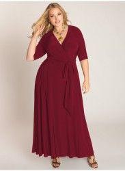 Mangolino Dress - MANGOLİNO DRESS MD59 Büyük Beden Abiye Elbise