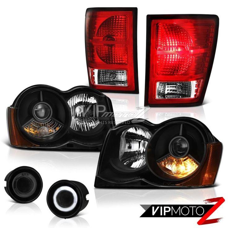 08-10 Jeep Grand Cherokee 4X4 Faros Smokey Foglamps Vino Rojo Luces Traseras | eBay Motors, Repuestos y accesorios, Repuestos para autos y camiones | eBay!