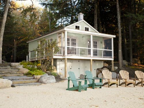 Lake House Before and After - Cabin Decorating Ideas - Good Housekeeping