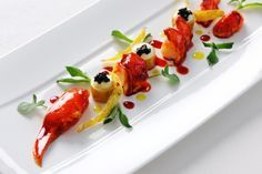 "Raymond Blanc at Le Manor aux Quat'Saisons: ""Lobster with Red Pepper & Cardamom Jus"""