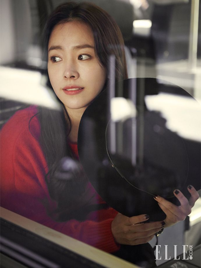 Han Ji Min for Elle Korea November 2014
