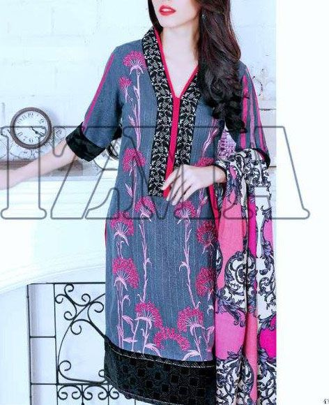 Buy Dark Grey Embroidered Leather Peach Salwar Kameez by Charizma 2015 Call: (702) 751-3523 Email: Info@PakRobe.com www.pakrobe.com https://www.pakrobe.com/Women/Clothing/Buy-Winter-Salwar-Kameez-Online #Winter #Salwar #kameez