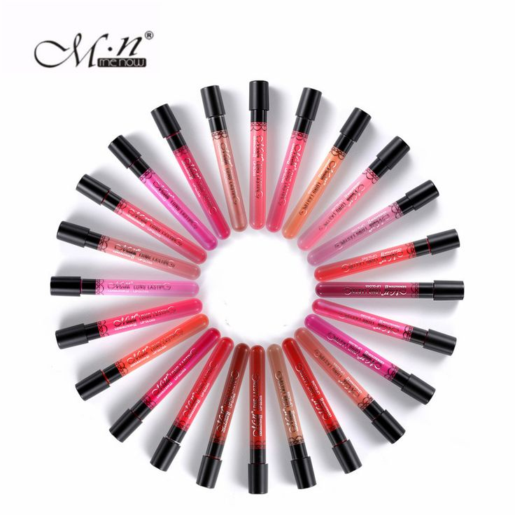 MENOW Long Lasting Matte Lipstick 36 Colors Velvet High Quality Waterproof Sexy Lip Gloss Daily Sweet Elegant Colors 12Pcs/lot #Affiliate