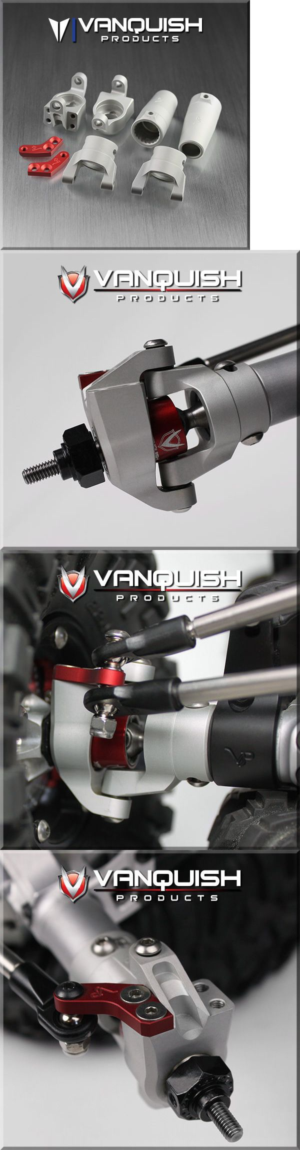 Suspension and Steering Parts 182199: Vanquish Axial Wraith Stage One Kit Clear Anodized Vps06510 -> BUY IT NOW ONLY: $78.99 on eBay!
