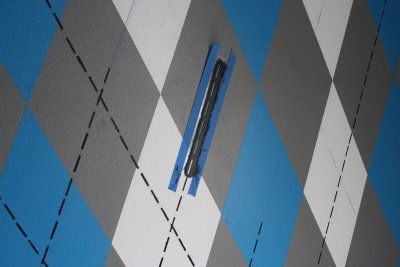 Design Dazzle How To Paint An Argyle Wall » Design Dazzle