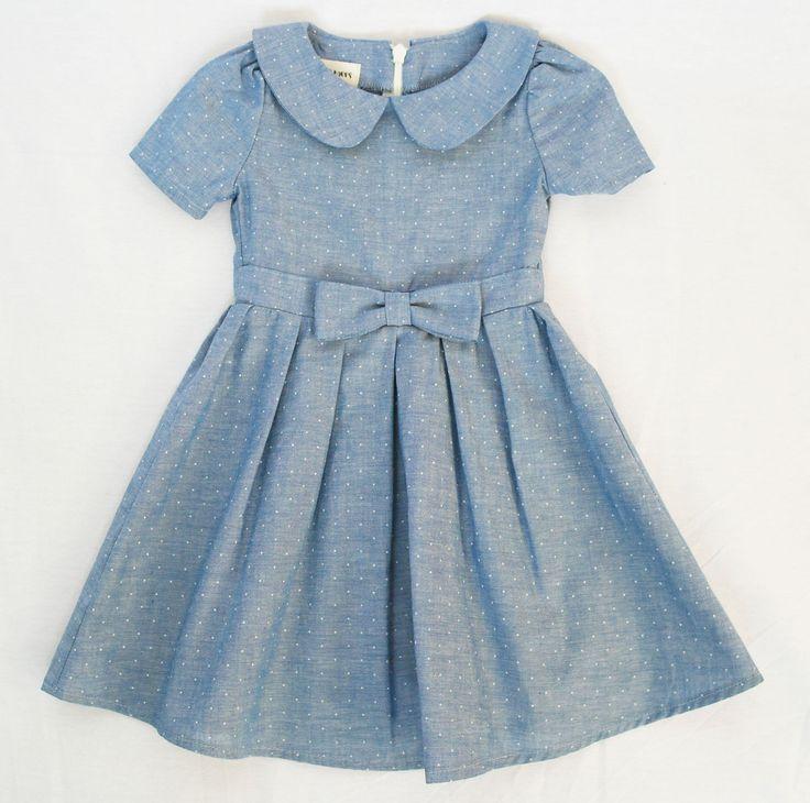 Chambray Dot Dress