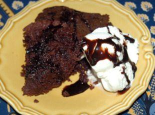 CROCKPOT Chocolate Cake!