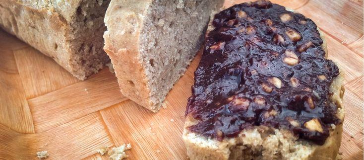 Máte radi sladké raňajky? Mary Czech má pre Vás tip. http://varme.sk/recipe/bananovy-chlieb-s-avokadovou-nutellou/