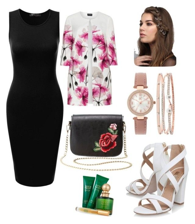 """""""Date Night Inspiration"""" by rebeccaodil on Polyvore featuring Hermann Lange, Charlotte Russe, INC International Concepts, Miss KG, Rare London and Jessica Simpson"""
