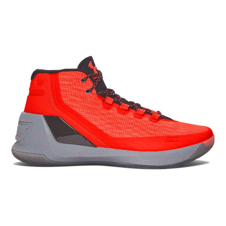 Kids Grade School UA Curry Three Basketball Shoes