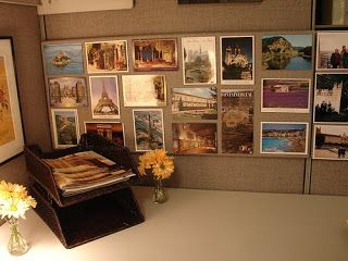 decorating work cubicles | epiphany living}: How to decorate your cubicle at work