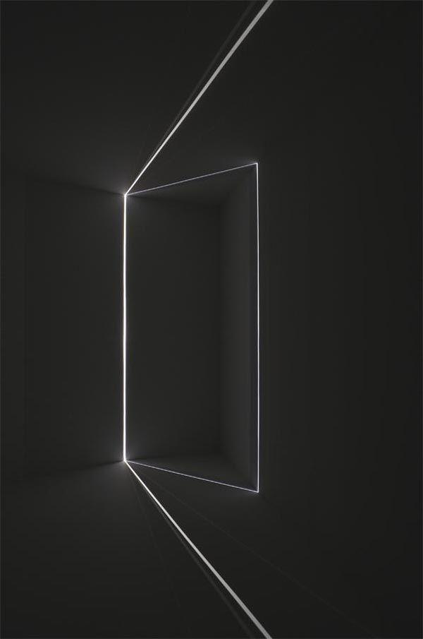 """Chris Fraser's Light Installations. """"My light installations use the camera…"""