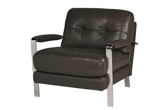 Urban Barn Valencia Leather Chair As Seen In Hannibal S