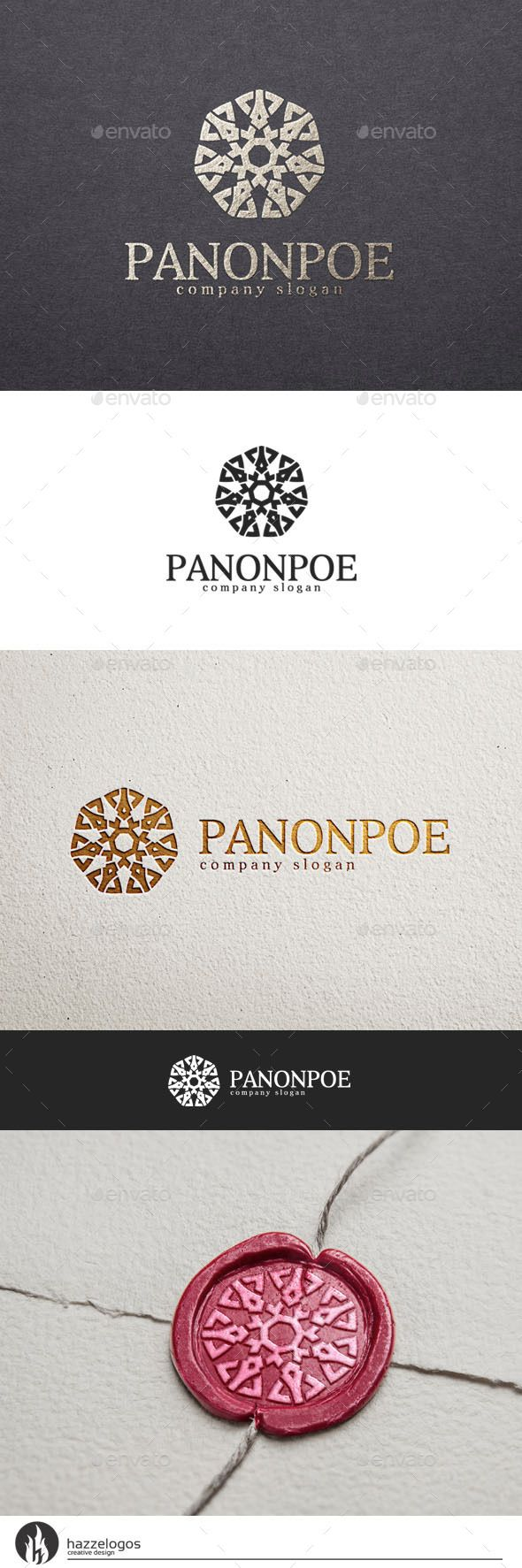 A great and elegant logo CMYK Editable and resizable vector files Editable text and color Included AI and EPS (illustrator 10 EPS)