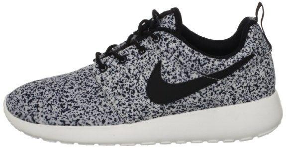 Nike Roshe Run Print Pour Femme Baskets Voile Noire Blanc Shop Online  France   SHOES ...