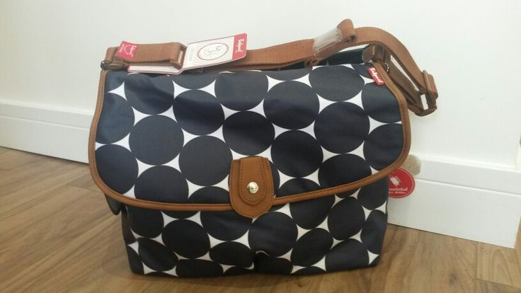 Babymel changing bag £39.95! Includes changing mat, wipe clean wiping, multi compartments, insulated bottle holder.
