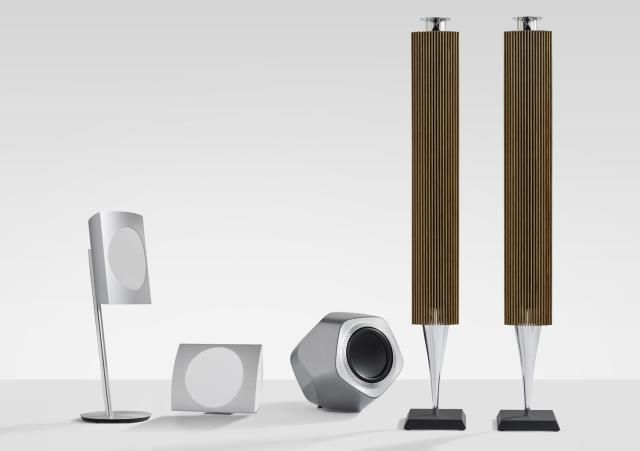 Looking for Wireless Home Theater Speakers? - Read This First: Photo of Bang & Olufsen's Wireless Speaker Line