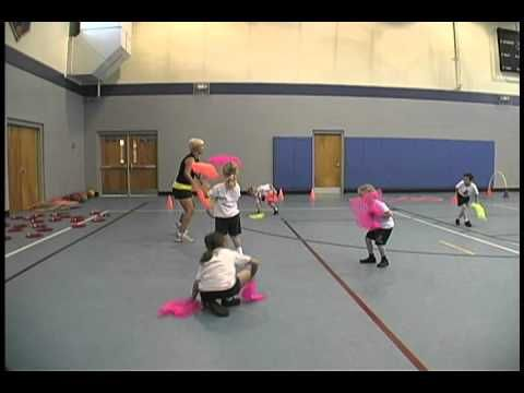 Gross motor Skill ideas. This video is from another pinner (I do not know these children). The ideas this educator has is great if you have lots of access to a large space.
