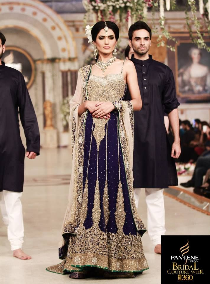 Mehdi Bridal Wear Outfits At Pantene Bridal Couture Week Lahore 008