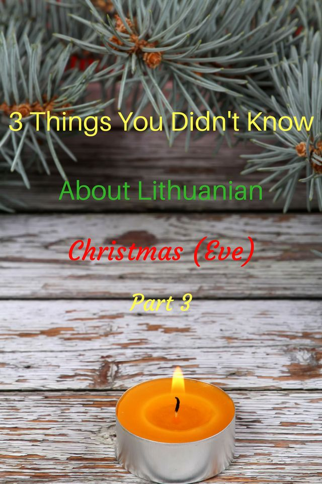 Gift giving. Part 3 of the Lithuanian Christmas Eve Celebration series