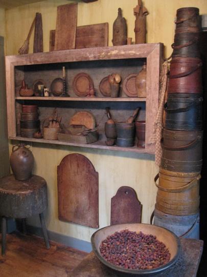 .Cutting Boards, American Harvest, Wooden Primitives, Firkins Buckets, Primitives Kitchens, Prime Decor, Primitives Decor, Primitives Country, Antiques
