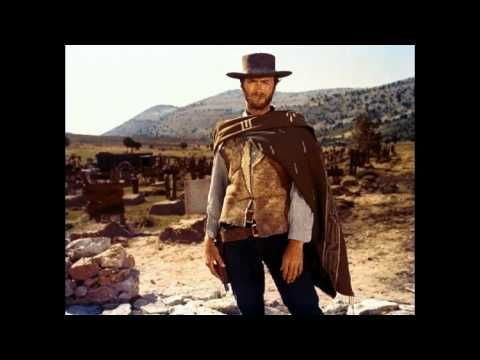 music of the soundtrack of the movie The Good, the Bad and theUgly composed by Ennio Morricone 1966    starring Clint Eastwood the living Legend, Lee van Cleef and Eli Wallach    directed by Sergio Leone