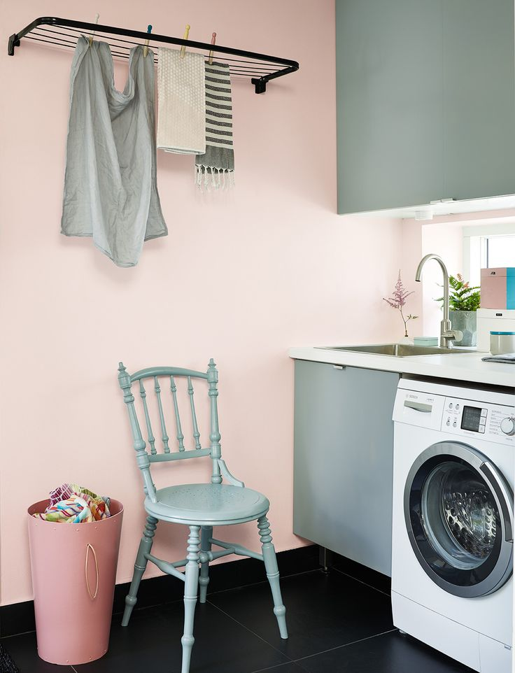 Paint paint paint! Your laundry room need some happiness!
