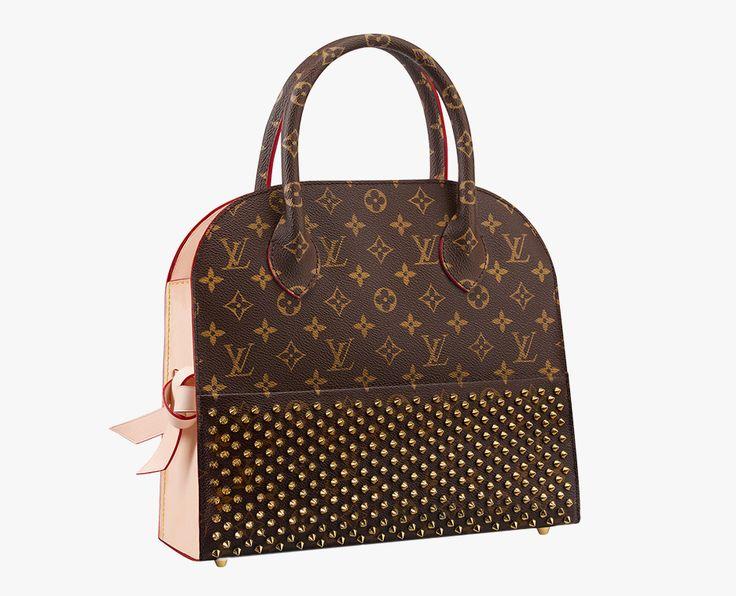Louis-Vuitton-Christian-Louboutin-Shopping-Tote gift idea for your girlfriend   25 Killer Christmas Gift Ideas for your girlfriend here: http://www.kailayu.com/25-killer-christmas-gifts-for-your-girlfriend/