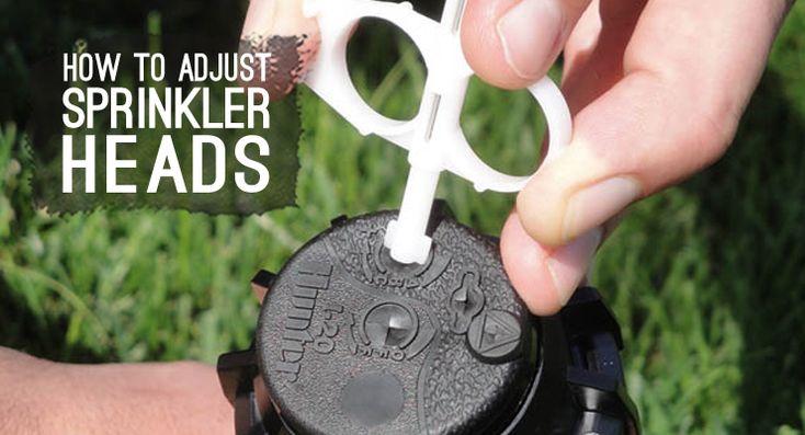 How To Adjust Sprinkler Heads Drip Depot DIY Irrigation