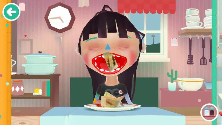 Toca Kitchen - Kids Learn how to Prepare Fish Food - Fun Cooking Game fo...