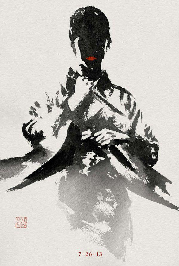 The Wolverine movie poster - Mariko Yashida