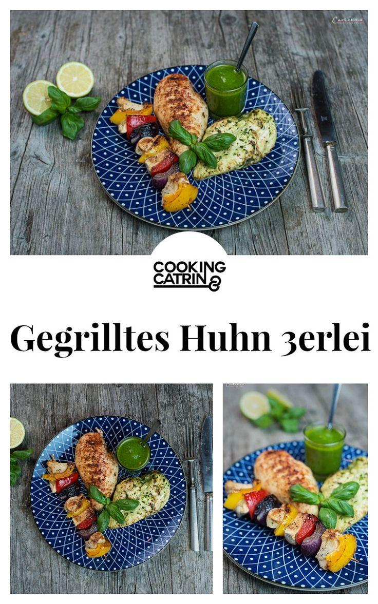 Hendl, Huhn, Gegrilltes Huhn, Grillen, Barbecue, BBQ, grilled chicken, chicken, Hühnchen 3erlei, Huhn gegrillt, Grillrezept, chicken grilled, BBQ recipe, barbecue recipe