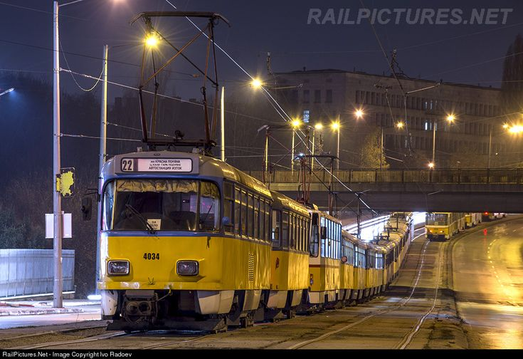 4034 Untitled Tatra T4D-M at Sofia, Bulgaria by Ivo Radoev