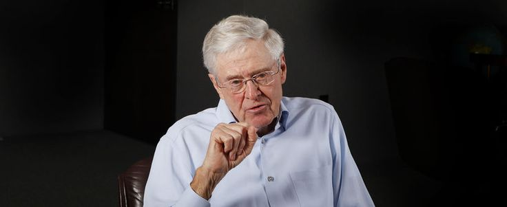 Charles Koch Distorts the Facts: Here Are the Ways His Money and Political Network Prevent Clean Energy Businesses from Succeeding