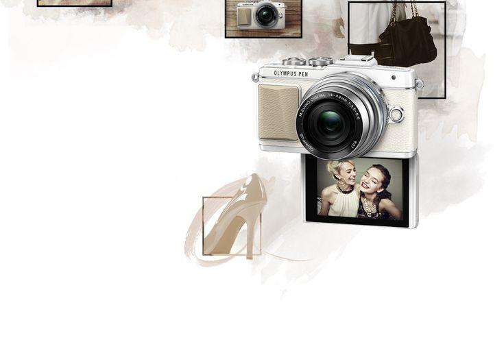E‑PL7 - Cámaras de fotos ; Cámaras sin espejo de óptica intercambiable - PEN - Olympus