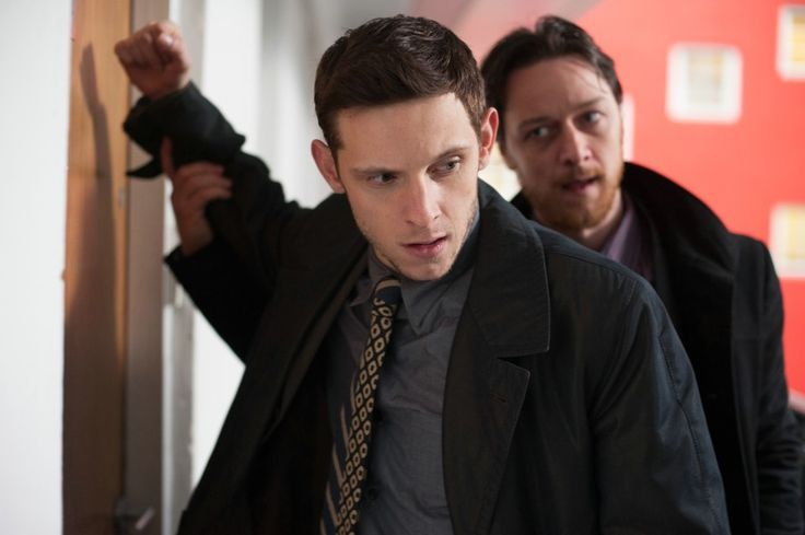 James McAvoy & Jamie Bell play corrupt cops in Edinburgh, Scotland in the film adaptation of 'Filth'.