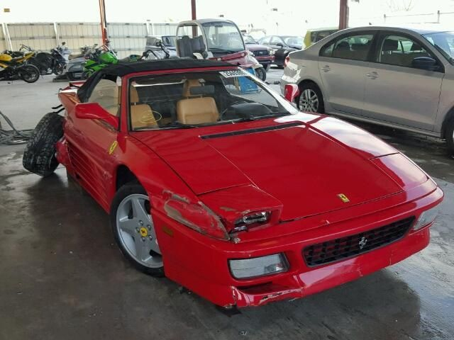 Salvage Ferrari All Models Cars for Sale And Auction   | ZFFRG43A9S0099176