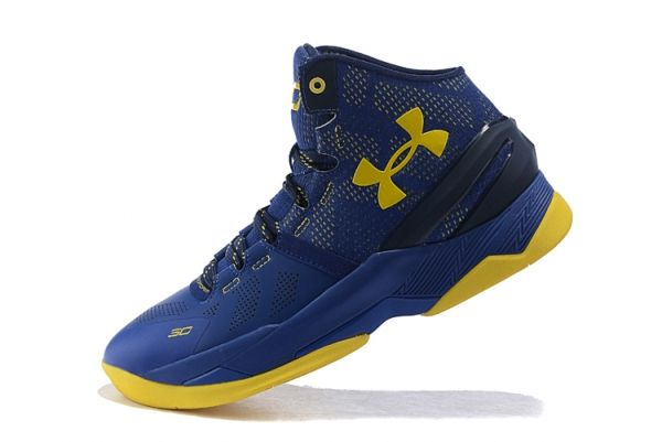 Ua Steph Curry 2 Two Dub Nation Photo Blue Gold Yellow Fila