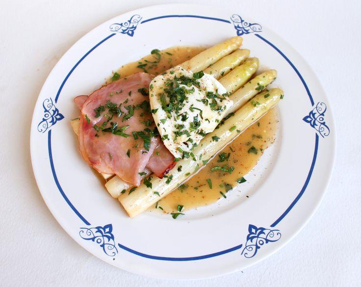 Masterchef week 8: asperges, beurre blanc, ham en gepocheerd ei