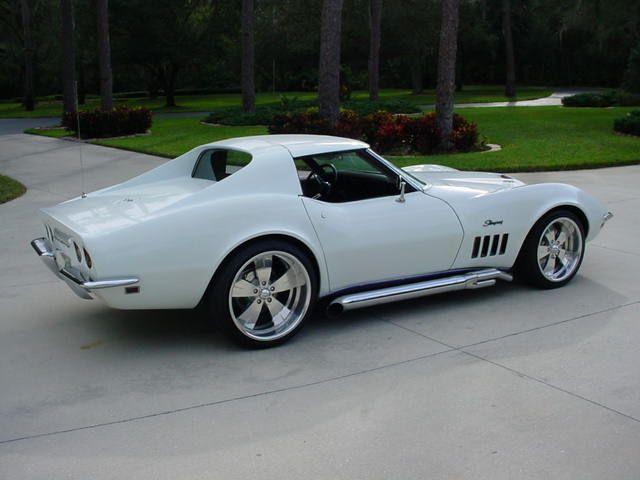 1969 corvette stingray - Corvette Stingray 1969 White