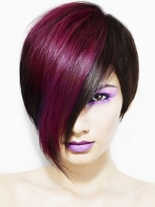 Violet Accent Color....hmmm, am I too old for this? I think it's beautiful.