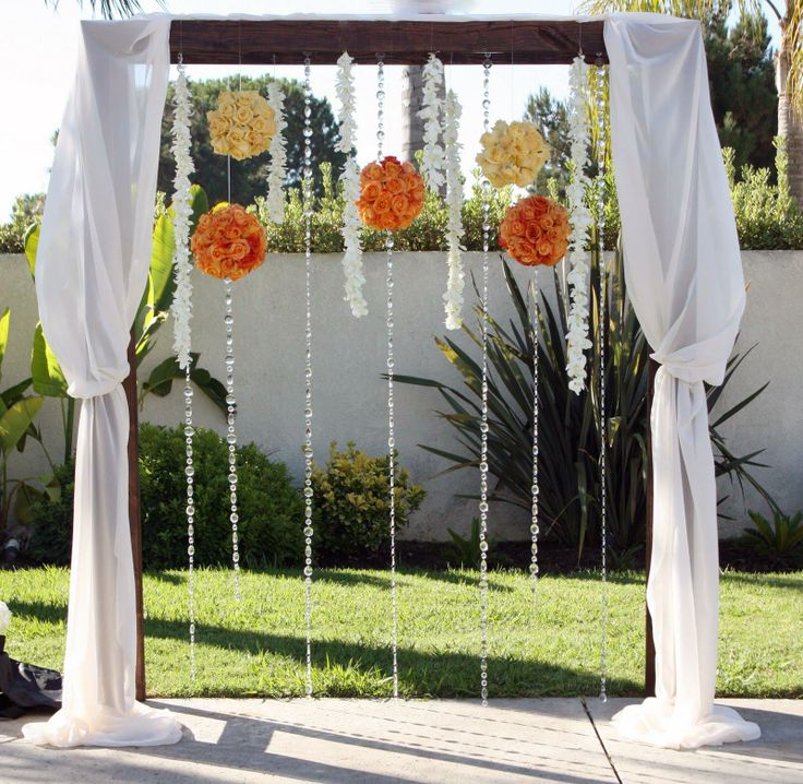 40 best Arbor Ideas images on Pinterest | Arch for wedding ...