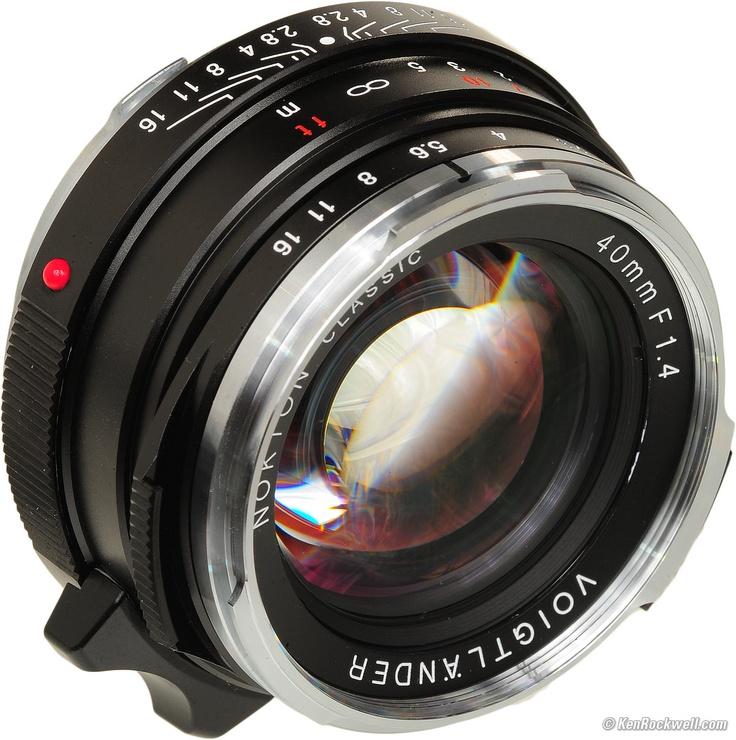 Voigtlander Nokton Classic 40mm f/1.4